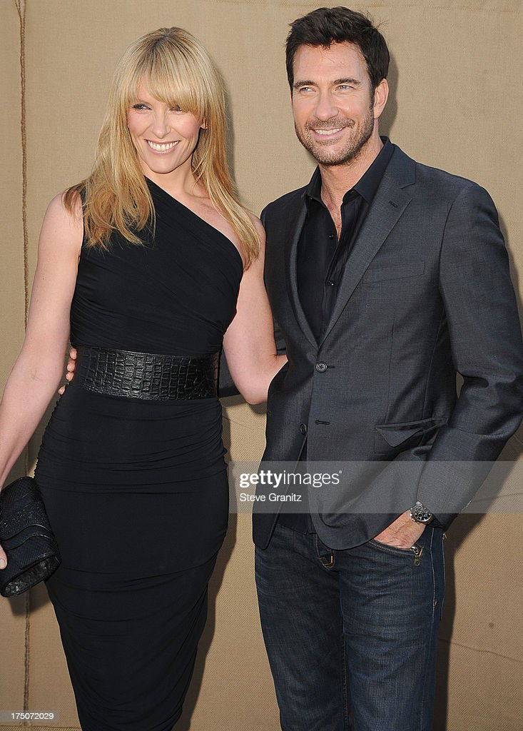 Toni Collette and Dylan McDermott arrives at the Television Critic Association's Summer Press Tour - CBS/CW/Showtime Party at 9900 Wilshire Blvd on July 29, 2013 in Beverly Hills, California.