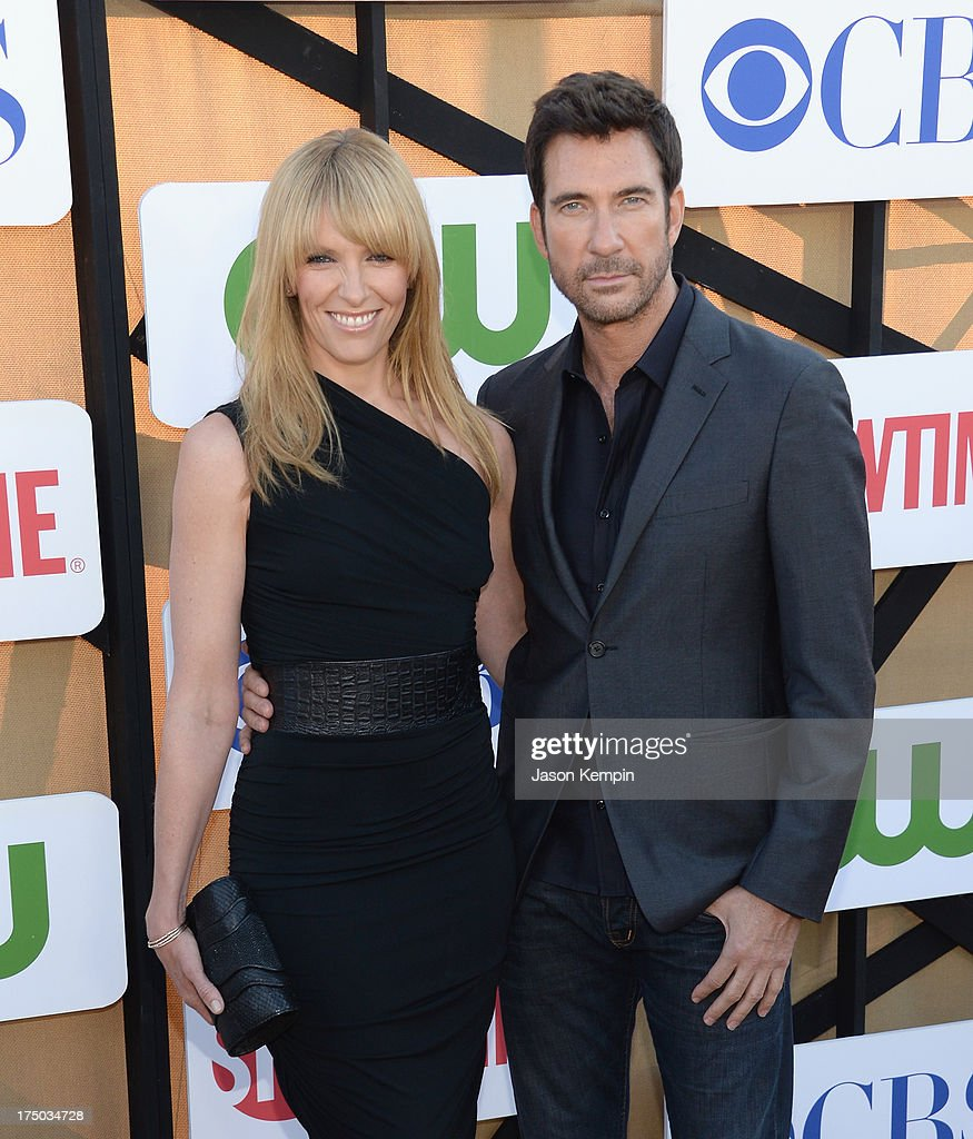 Toni Collette and Dylan McDermott attend the CW, CBS And Showtime 2013 Summer TCA Party on July 29, 2013 in Los Angeles, California.