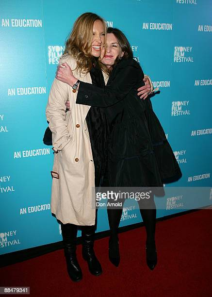 Toni Collette and Finolo Dwyer attend the the Sydney Film Festival Awards at the State Theatre on June 14 2009 in Sydney Australia