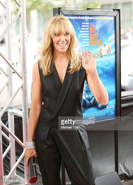 Toni Collette arrives at the 2013 Los Angeles Film Festival 'The Way Way Back' closing night gala held at Regal Cinemas LA LIVE Stadium 14 on June 23...