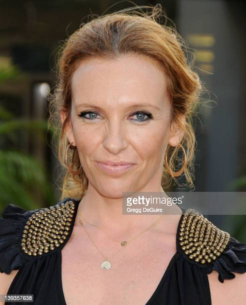 Toni Collette arrives for the Los Angeles Premiere of 'Funny People' at the Cinerama Dome in Hollywood California on July 20 2009