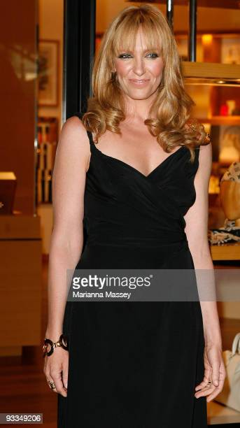 Toni Collette arrives for the official opening of the new Louis Vuitton store at the Chadstone Shopping Centre on November 24 2009 in Melbourne...