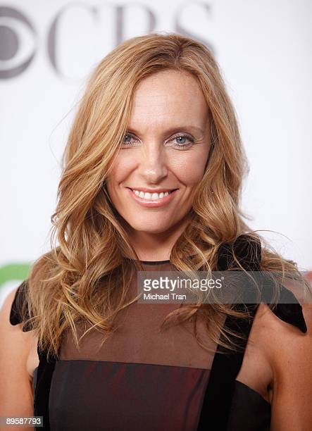 Toni Collette arrives to the 2009 TCA Summer Tour for CBS CW and Showtime party held at The Huntington Library on August 3 2009 in San Marino...
