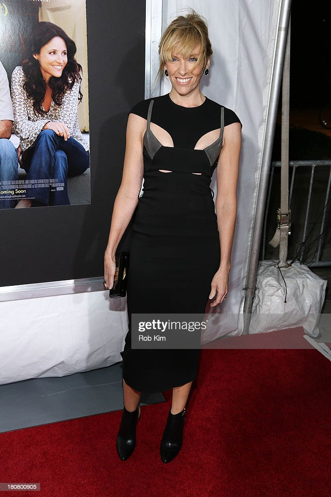 <a gi-track='captionPersonalityLinkClicked' href=/galleries/search?phrase=Toni+Collette&family=editorial&specificpeople=204673 ng-click='$event.stopPropagation()'>Toni Collette</a> attends 'Enough Said' New York Screening at Paris Theater on September 16, 2013 in New York City.