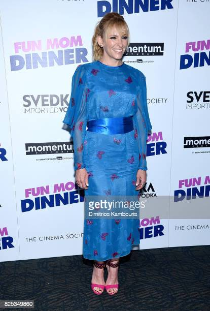 Toni Collette attends the screening Of 'Fun Mom Dinner' at Landmark Sunshine Cinema on August 1 2017 in New York City