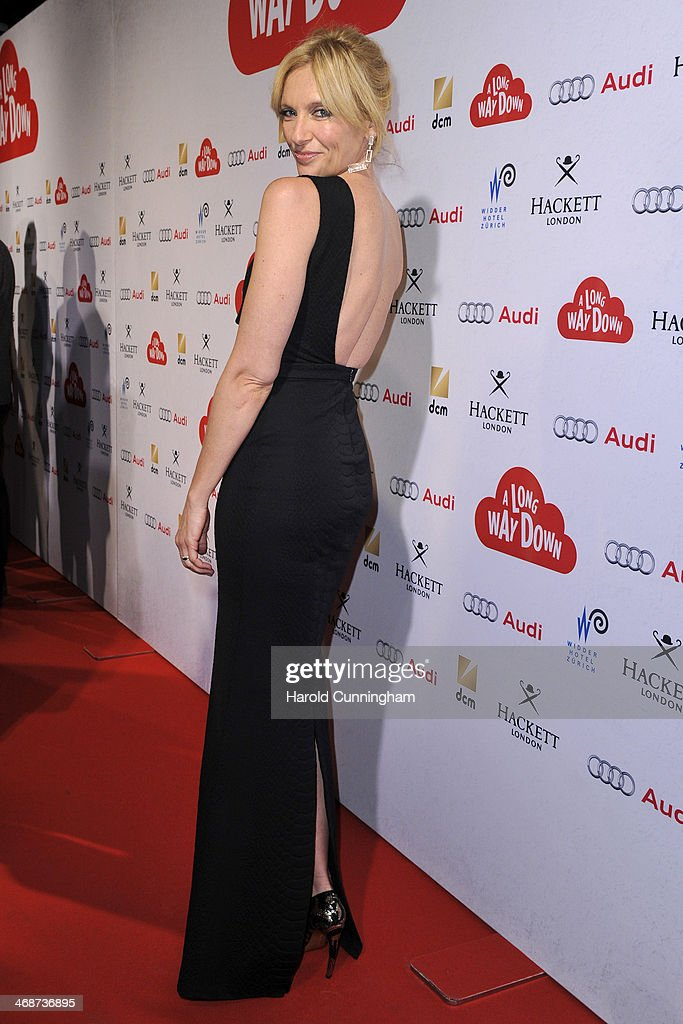 Toni Collette attends the Zurich Premiere of 'A Long way down' at Kino Corso on February 11, 2014 in Zurich, Switzerland.