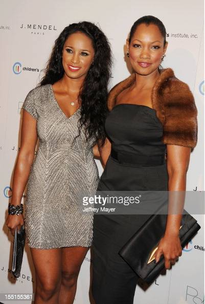 Toni Duclottni and Garcelle Beauvais arrive at the 3rd Annual Autumn party at The London West Hollywood on October 17 2012 in West Hollywood...