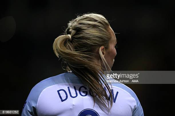 Toni Duggan of England during the UEFA Women's European Qualifier between England and Belgium at The New York Stadium on April 8 2016 in Rotherham...