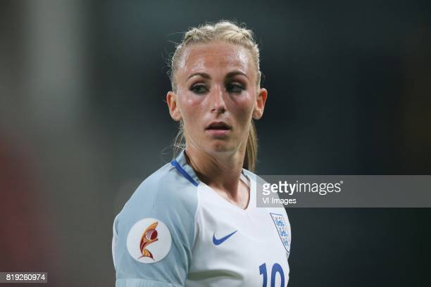 Toni Duggan of England women during the UEFA WEURO 2017 Group D group stage match between England and Scotland at the Galgenwaard Stadium on July 19...
