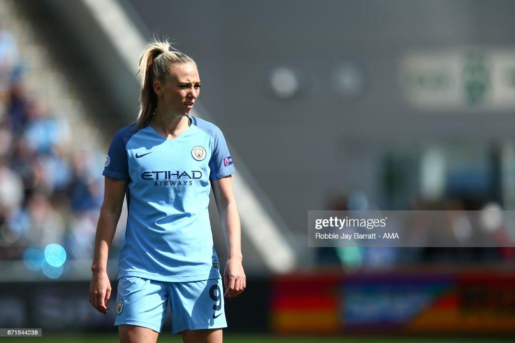 Manchester City Ladies v Lyon - UEFA Women's Champions League : News Photo