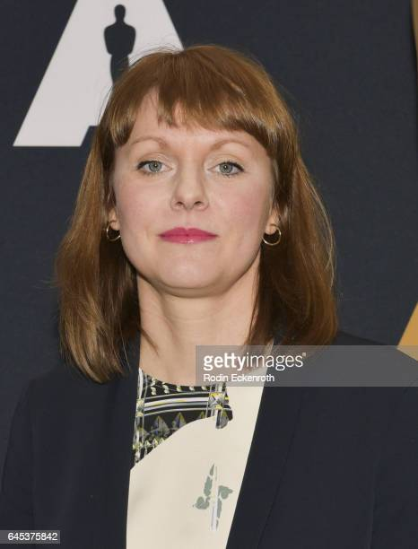 'Toni Erdmann' Director Maren Ade attends 89th Annual Academy Awards Oscar week celebration of Foreign Language Films at Samuel Goldwyn Theater on...