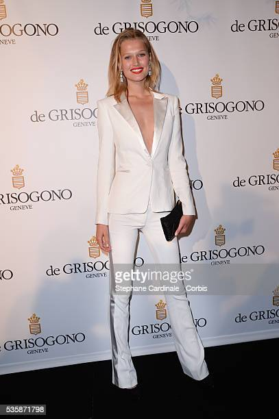 Toni Garn attends the 'de Grisogono Party' during the 66th Cannes International Film Festival