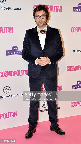 Toni Garrido attends Cosmopolitan Fun Fearless Awards 2012 at Ritz Hotel on October 22 2012 in Madrid Spain
