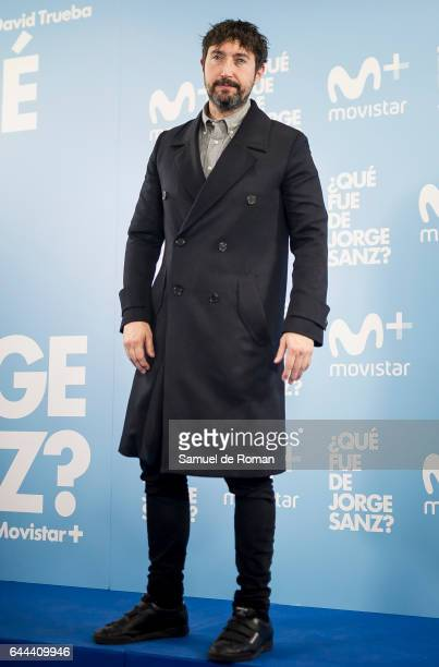 Toni Garrido during 'Que fue de Jorge Sanz' Madrid Premiere on February 23 2017 in Madrid Spain