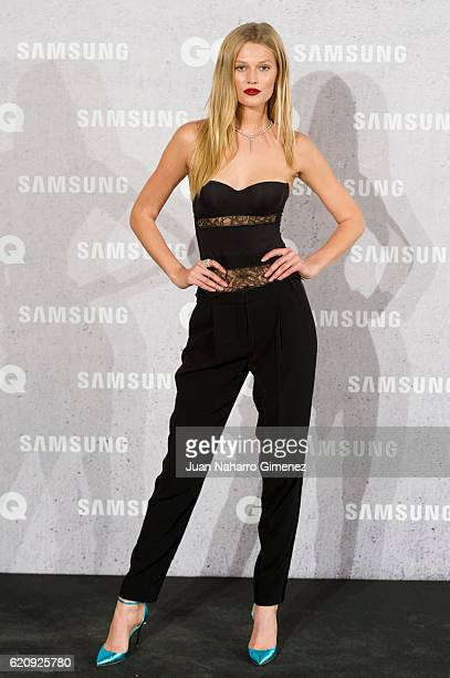 Toni Garrn attends 'GQ Men Of The Year Awards 2016' photocall at Palace Hotel on November 3 2016 in Madrid Spain