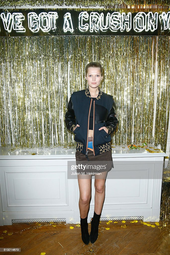 Prom 2016 - Coach Paris Flagship Opening Party Arrivals