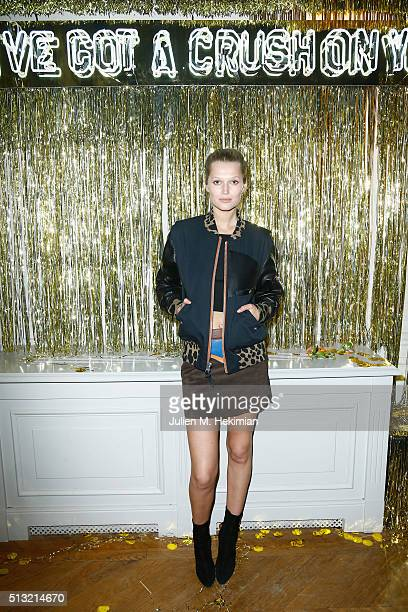 Toni Garrn attends Prom 2016 Party hosted by Coach for the Paris Flagship opening as part of the Paris Fashion Week Womenswear Fall/Winter 2016/2017...