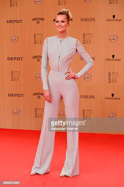 Toni Garrn attends the Bambi Awards 2015 at Stage Theater on November 12 2015 in Berlin Germany
