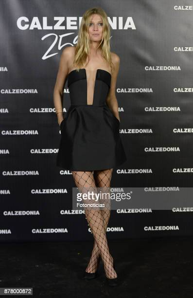 Toni Garrn attends the Calzedonia 25th Anniversary party at the Real Jardin Botanico on November 23 2017 in Madrid Spain