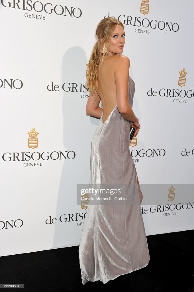 Toni Garrn attends the De Grisogono Party at the 69th annual Cannes Film Festival at Hotel du CapEdenRoc on May 157 2016 in Cap d'Antibes France