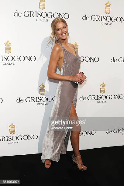 Toni Garrn attends the De Grisogono Party at the annual 69th Cannes Film Festival at Hotel du CapEdenRoc on May 15 2016 in Cap d'Antibes France