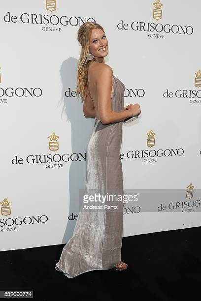 Toni Garrn attends the De Grisogono Party during the annual 69th Cannes Film Festival at Hotel du CapEdenRoc on May 17 2016 in Cap d'Antibes France