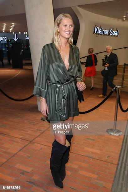 Toni Garrn attends the Deutscher Radiopreis at Elbphilharmonie on September 7 2017 in Hamburg Germany 'n
