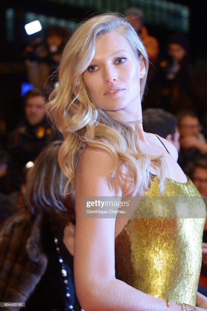 Toni Garrn attends the 'Django' premiere during the 67th Berlinale International Film Festival Berlin at Berlinale Palace on February 9, 2017 in Berlin, Germany.