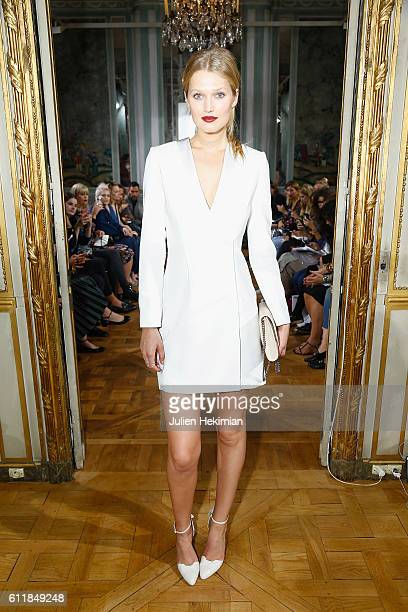 Toni Garrn attends the Kaviar Gauche show as part of the Paris Fashion Week Womenswear Spring/Summer 2017 on October 1 2016 in Paris France