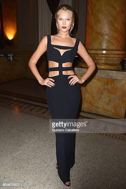 Toni Garrn attends the UNITAS 2nd annual gala against human trafficking at Capitale on September 13 2016 in New York City