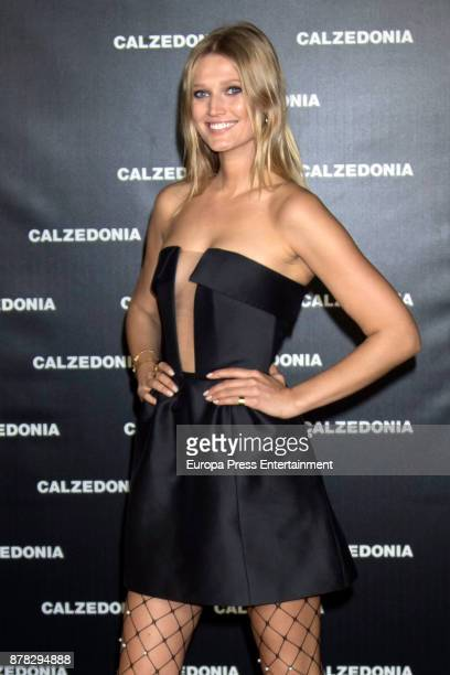 Toni Garrn attends 'Vogue Joyas' awards at Santona Palace on November 23 2017 in Madrid Spain