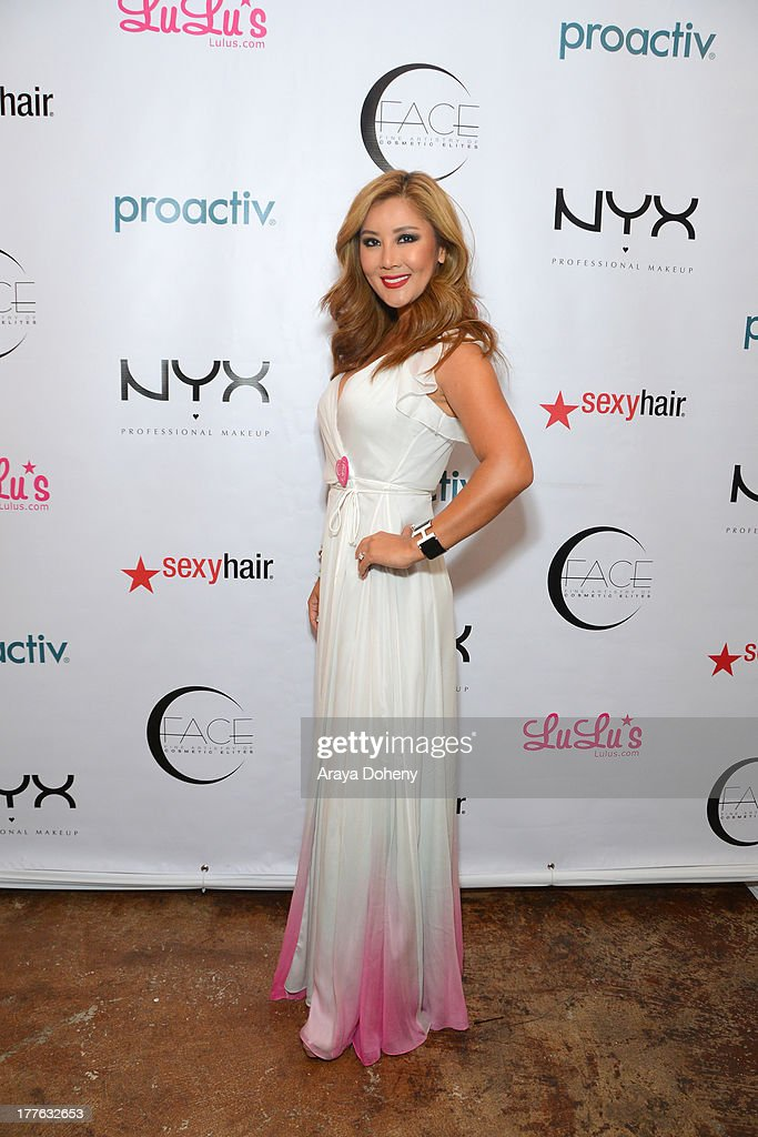 Toni Ko Founder & Chief Creative Director NYX Cosmetics attends the NYX Cosmetics FACE Awards at Beautycon at Siren Studios on August 24, 2013 in Hollywood, California.