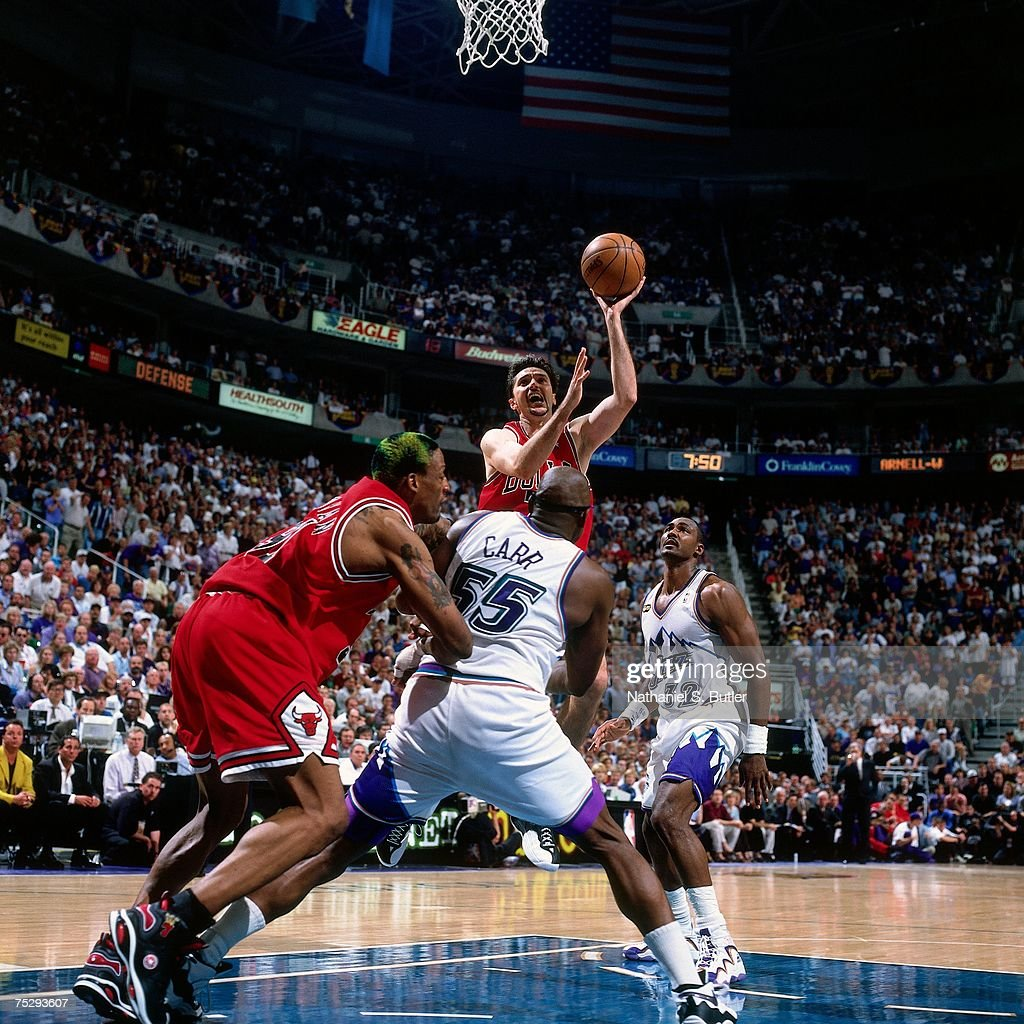 1998 NBA Finals Game 6 Chicago Bulls vs Utah Jazz
