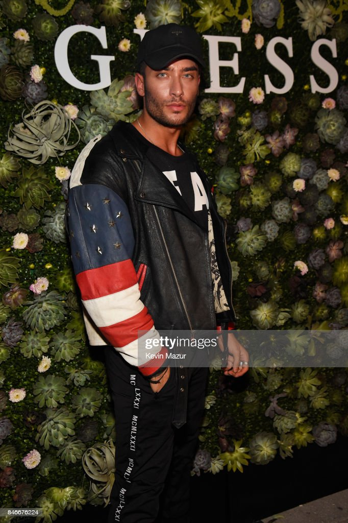 Toni Mahfud attends GUESS NYFW Fall Fashion Event at Public Hotel on September 13, 2017 in New York City.
