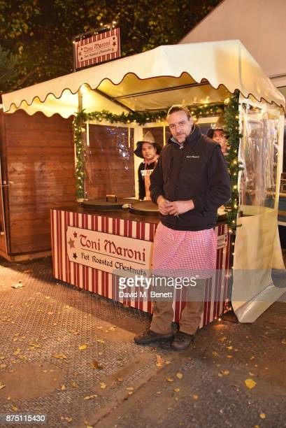 Toni Maroni attends the VIP launch of Hyde Park Winter Wonderland 2017 on November 16 2017 in London England