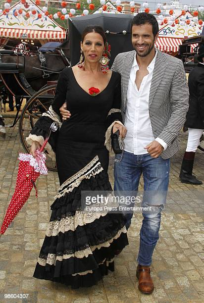 Toni Salazar and Roberto Liano attend the 'Feria de Abril' on April 22 2010 in Seville Spain Feria de Abril is held annually in Seville and it�s the...