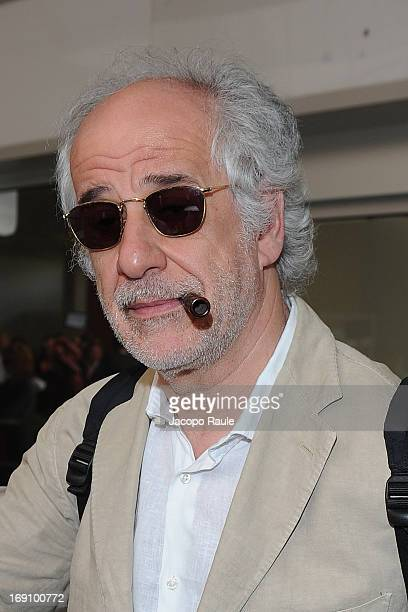 Toni Servillo arrives at Nice airport The 66th Annual Cannes Film Festival on May 19 2013 in Nice France