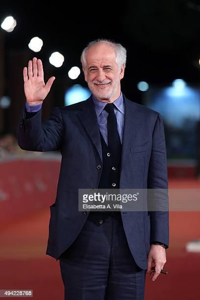 Toni Servillo attends a red carpet for 'La Grande Bellezza' during the 10th Rome Film Fest at Auditorium Parco Della Musica on October 24 2015 in...