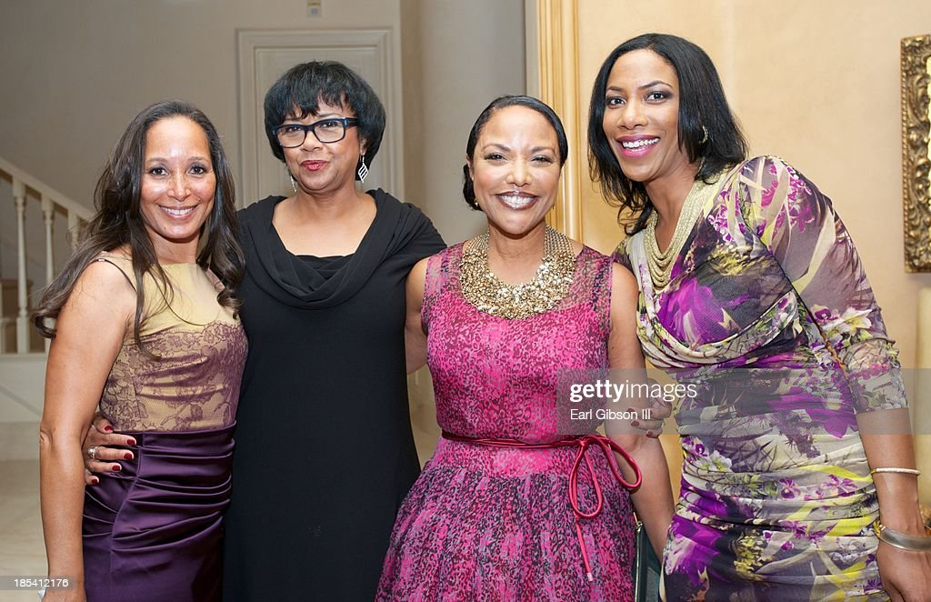 Toni Thompson, Cheryl Boone Issacs, <a gi-track='captionPersonalityLinkClicked' href=/galleries/search?phrase=Lynn+Whitfield&family=editorial&specificpeople=212990 ng-click='$event.stopPropagation()'>Lynn Whitfield</a> and Shauna Bain Smith attend the House Of Flowers Gala on October 19, 2013 in Beverly Hills, California.
