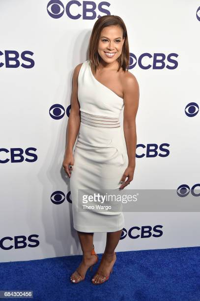 Toni Trucks attends the 2017 CBS Upfront on May 17 2017 in New York City