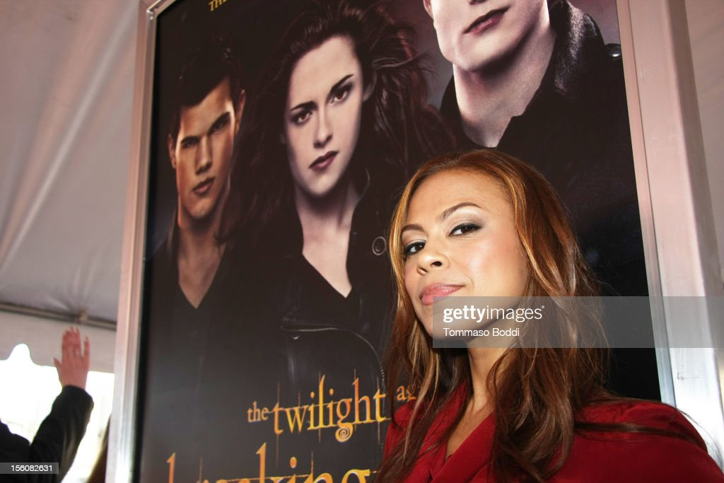 Toni Trucks attends the Twilight fan camp breakfast at L.A. LIVE on November 11, 2012 in Los Angeles, California.