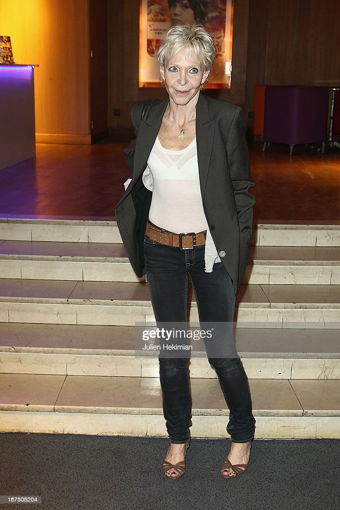 Tonie Marshall attends 'Alias Caracalla' Paris Premiere at Cinema l'Arlequin on April 25, 2013 in Paris, France.