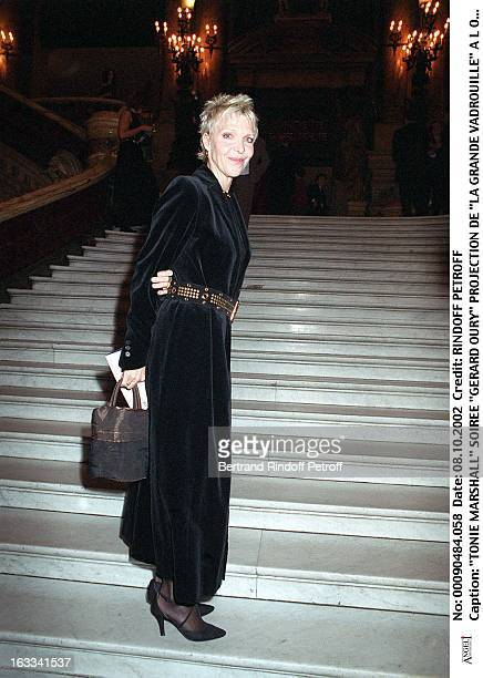 Tonie Marshall 'Gerard Oury' film screening of 'La Grande Vadrouille' at the Garnier opera