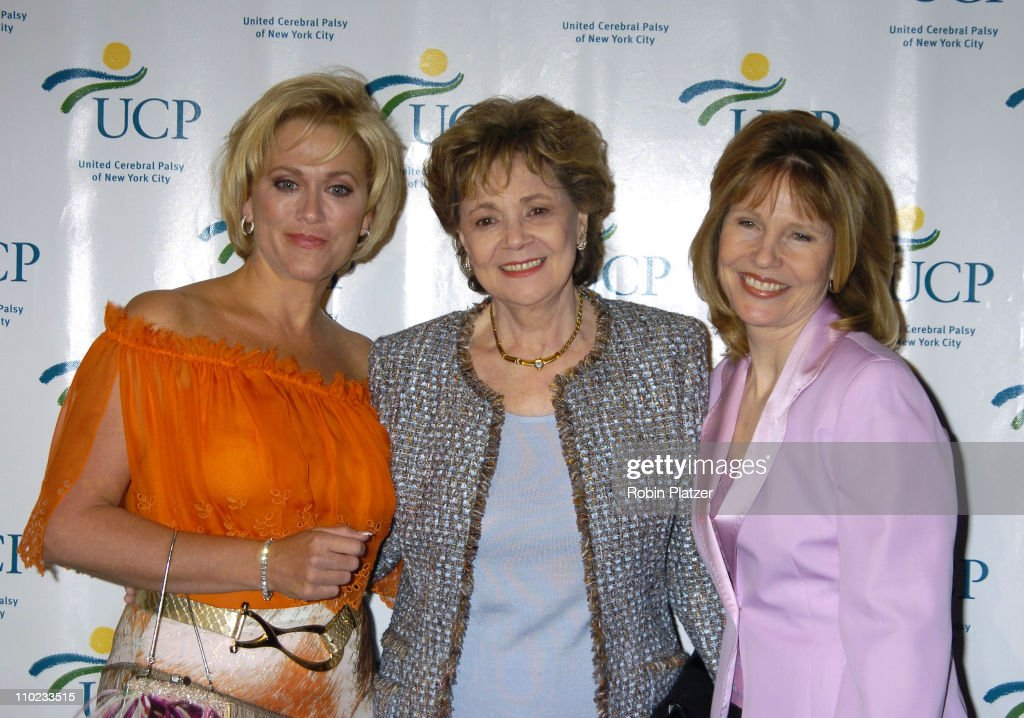 Tonja Walker Matilda Cuomo and Donna Hanover during United Cerebral Palsy Fourth Annual 'Women Who Care' Luncheon at Ciprianis 42nd Street in New...