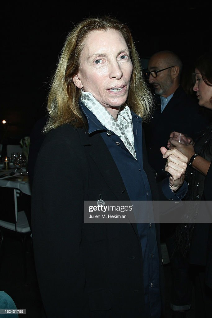 Tonne Goodman attends the Glamour dinner for Patrick Demarchelier as part of the Paris Fashion Week Womenswear Spring/Summer 2014 at Monsieur Bleu restaurant on September 29, 2013 in Paris, France.
