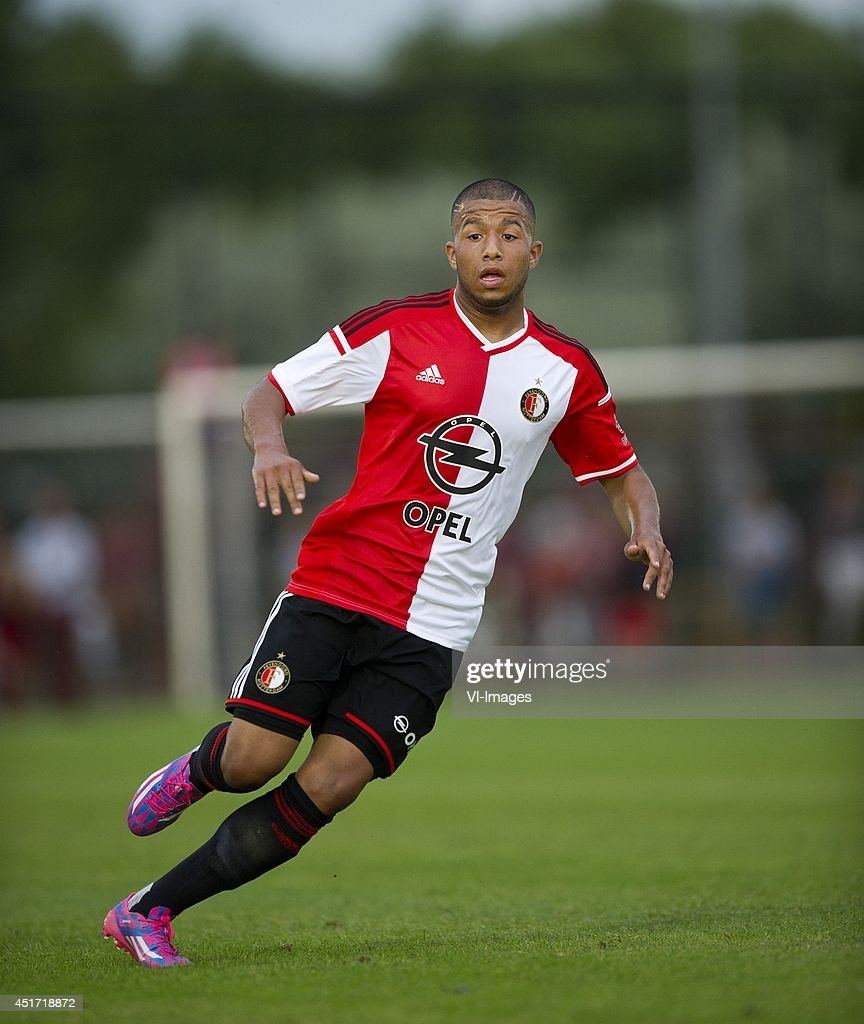 Tonny Trindade de Vilhena during the friendly match between VOC and Feyenoord on July 4, 2014 at Rotterdam, The Netherlands.