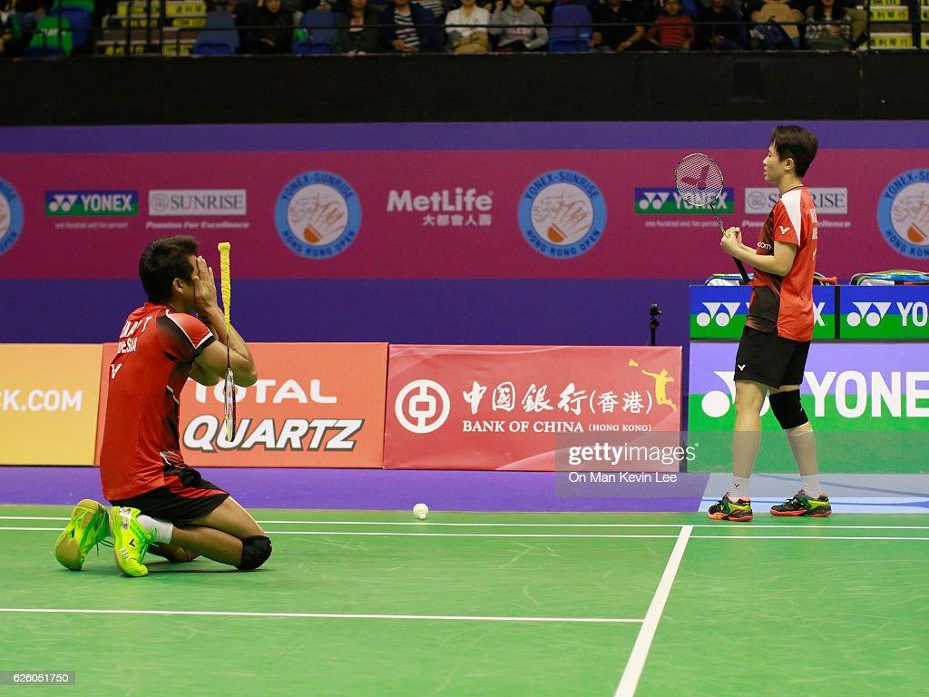 Yonex Hong Kong Open Badminton Championships 2016 - Day 6