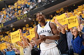 Tony Allen of the Memphis Grizzlies during the game against the Golden State Warriors in Game Three of the Western Conference Semifinals during the...