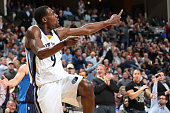 Tony Allen of the Memphis Grizzlies during the game against the Dallas Mavericks during the game on December 9 2014 at FedExForum in Memphis...