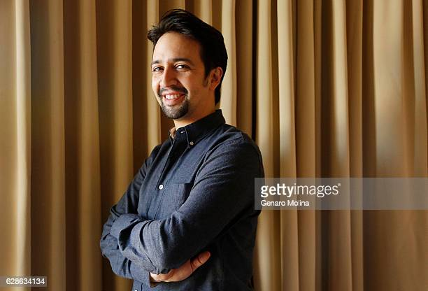 Tony and Pulitzer Prize winner LinManuel Miranda is photographed for Los Angeles Times on November 12 2016 in Los Angeles California PUBLISHED IMAGE...